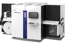 デジタル ラベルシール印刷機は版不要で高速、可変印刷