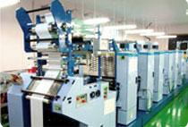ラベルシールのオフセット印刷機