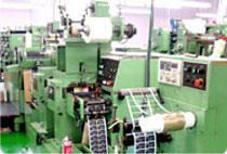 ラベルシールの凸版印刷機