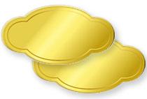 ラベルシール・ステッカーの形状・納品形態…形状カットタイプ